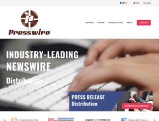 presswire.co.uk screenshot
