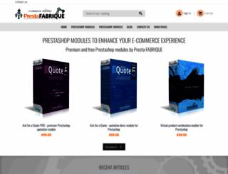presta-shop-modules.com screenshot