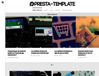 presta-template.com screenshot