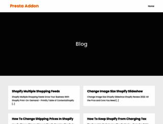 prestaddon.com screenshot