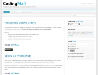 prestashop-addons.codingmall.com screenshot