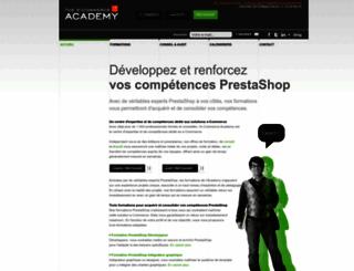 prestashop.academy-ecommerce.com screenshot