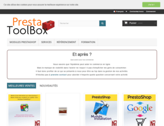 prestashop.mediacom87.fr screenshot