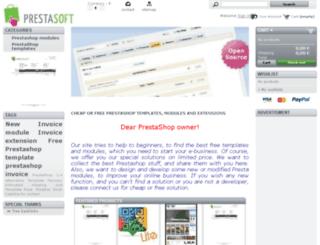 prestaworld.info screenshot