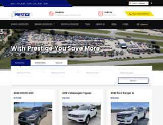 prestigeautobrokers.com screenshot