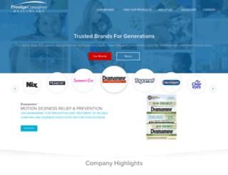 prestigebrandsinc.com screenshot