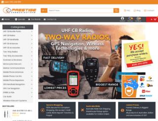 prestigecom.net.au screenshot