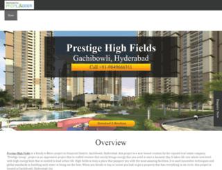 prestigehighfieldshyderabad.co.in screenshot