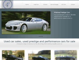 prestigemotorcars.co.uk screenshot
