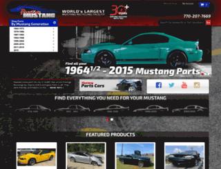 prestigemustang.com screenshot