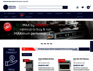 prestigeproducts.com.au screenshot
