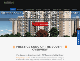 prestigesongofsouth.net screenshot