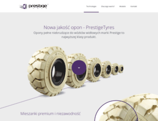 prestigetyres.pl screenshot