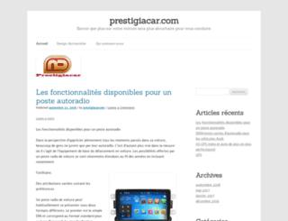 prestigiacar.com screenshot