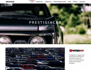 prestigiacar.fr screenshot