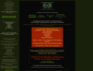 prestigioushomes.net screenshot