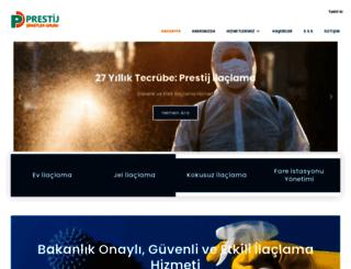 prestijilaclama.com screenshot