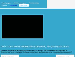 prestopages.prestopages.net screenshot