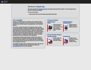prestoservices.com screenshot