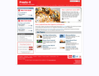 prestox.com screenshot