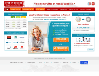 pret-en-devises.com screenshot