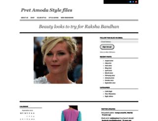pretamoda.wordpress.com screenshot