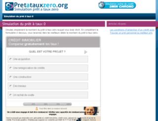 pretatauxzero.org screenshot