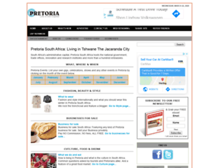 pretoria-south-africa.com screenshot