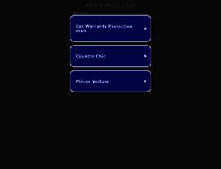 pretty-pieces.co.uk screenshot