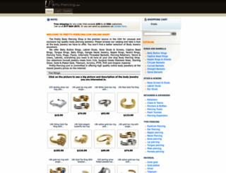 pretty-piercing.com screenshot