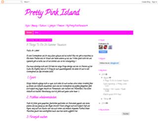 pretty-pink-island.blogspot.de screenshot