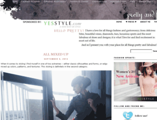 prettyandfabulous.com screenshot