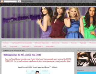 prettylittleliarslatinoamerica.blogspot.mx screenshot