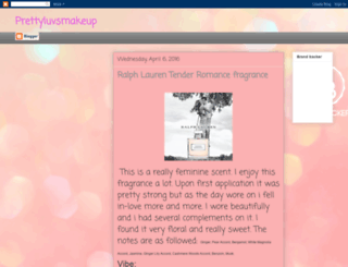 prettyluvsmakeup1.blogspot.com screenshot