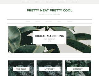 prettyneatprettycool.co.za screenshot