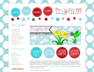 prettypapergraphics.com screenshot