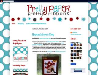 prettypaperprettyribbons.blogspot.com screenshot