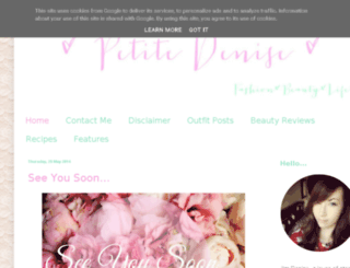 prettypetitepoppy.blogspot.co.uk screenshot