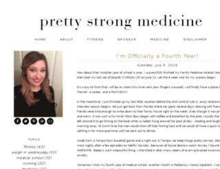 prettystrongmedicine.com screenshot