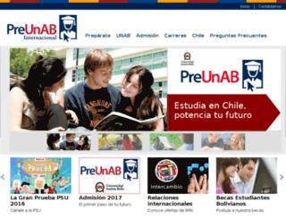 preunab.net screenshot