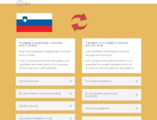 prevajalec.org screenshot