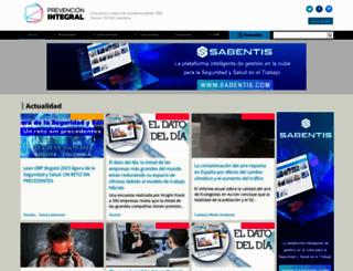 prevencionintegral.com screenshot