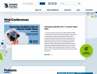 preventconnect.org screenshot