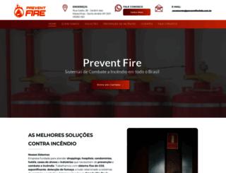 preventfireltda.com.br screenshot