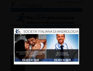 prevenzioneandrologica.it screenshot