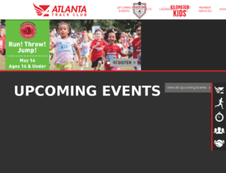 preview.atlantatrackclub.org screenshot