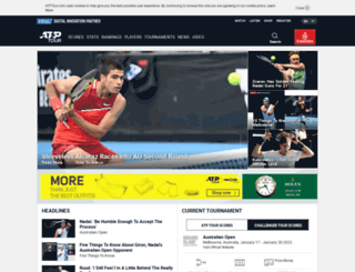 preview.atpworldtour.com screenshot