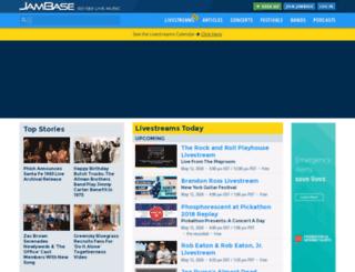 preview.jambase.com screenshot
