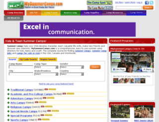 preview.mysummercamps.com screenshot