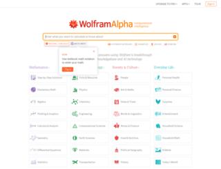 preview.wolframalpha.com screenshot
